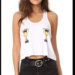 Wildfox | And The Award Goes To Crop Tank